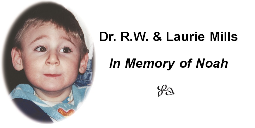 Dr RW & Laurie Mills Logo