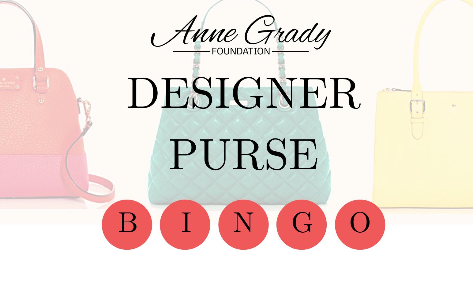 Design Purse Bingo Graphic